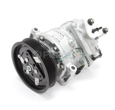 Volvo A/C Compressor (S80 XC60 XC70 S60) - Genuine Volvo 36011354