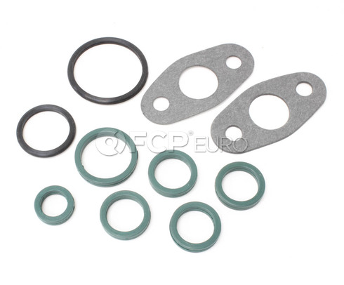Volvo Engine Oil Pan Gasket Set (850 960 V40) - Reinz 8648358
