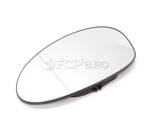 BMW Euro Blindspot Door Mirror Glass Left (E85 E86) - Genuine BMW 51167112583