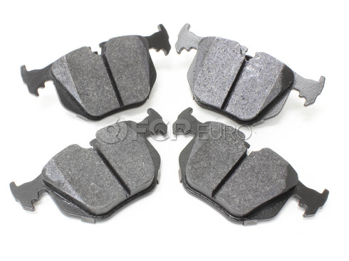 BMW HPS Brake Pad Set Rear - Hawk HB518F.642