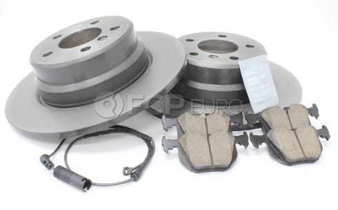 BMW Brake Kit Rear (E53) - Brembo/Akebono 34216794299KT1