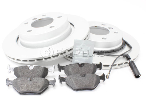 BMW Brake Kit Rear (E46) - Genuine BMW 34216778168KT