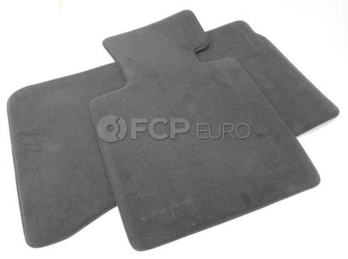BMW Black Velour Floor Mat Set (E85 E86 Z4) - Genuine BMW 51477030765