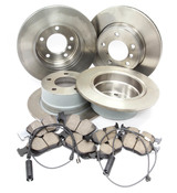 BMW Comprehensive Brake Kit (Z3) - Brembo/Akebono Z3BRAKEKITM54