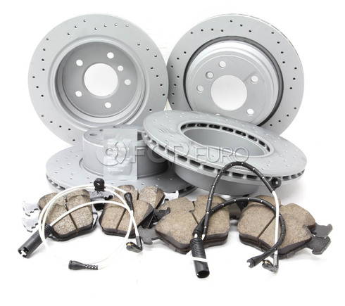 BMW Brake Kit - Zimmermann/Akebono 34116767061KTFR10