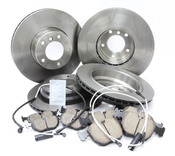 BMW Brake Kit - Brembo/Akebono 34116767059KTFR9
