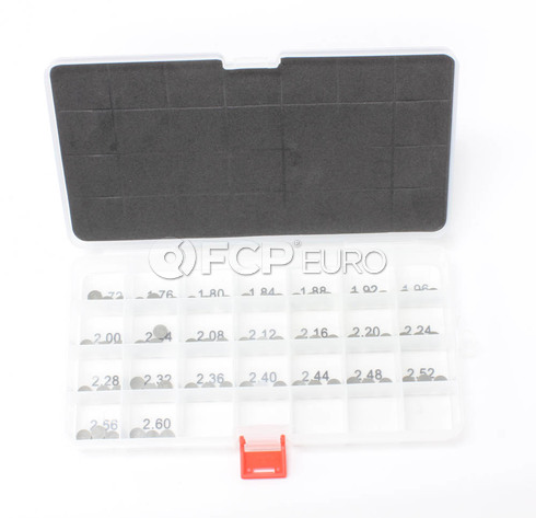 BMW S54 Valve Adjustment Shim Kit - Wiseco VSK4