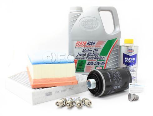 Audi 5W40 Service Kit (B8 A4 A5 2.0T) - Pentosin/Mann A4B8OILSVC20T2