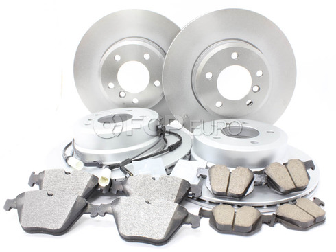BMW Brake Kit Front and Rear (E60) - Meyle/Akebono 34116864906KTFR3