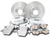 BMW Brake Kit - Meyle/Akebono 34116864906KTFR3