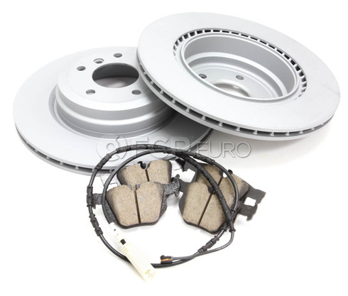 BMW Brake Kit - Zimmermann/Akebono 34216855004KT7