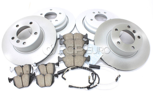 BMW Brake Kit Front and Rear (E39 525i 528i) - Meyle/Akebono 34116767061KTFR12