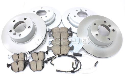 BMW Brake Kit - Meyle/Akebono 34116767061KTFR12