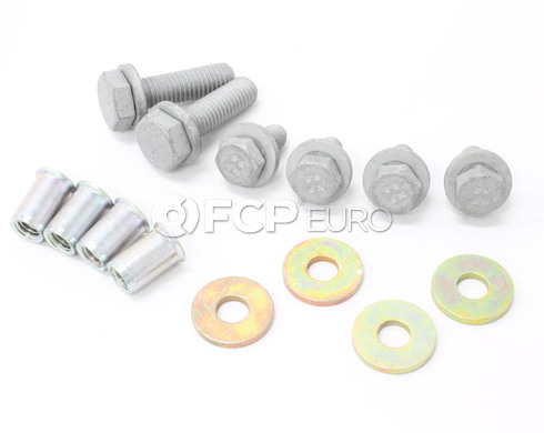 BMW X-Brace Hardware Kit (E36 Z3) - 07147165618KIT