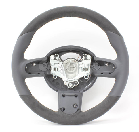 MINI JCW Leather Alcantara Steering (R50 R52 R53) - Genuine MINI 32300403545
