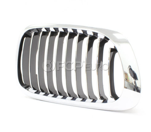 BMW Kidney Grille Right (E46) - Genuine BMW 51138208686