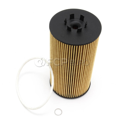 Audi VW Engine Oil Filter Kit (A4 A6 A8 Allroad S4 Phaeton) - Hengst 079198405A