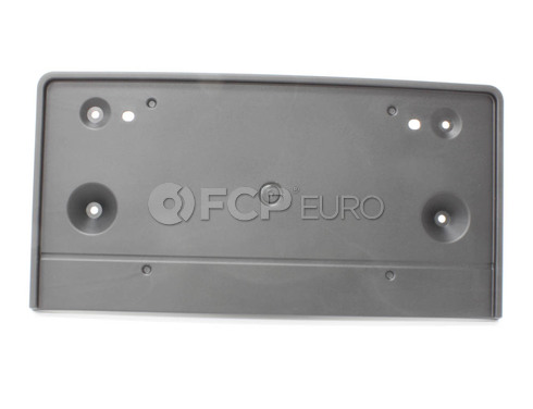 BMW Licence Plate Holder (Black) (X3) - Genuine BMW 51133447124