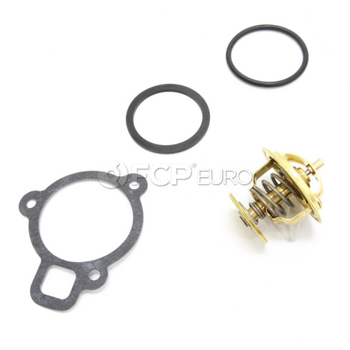 Audi VW Engine Coolant Thermostat (Jetta Beetle Golf) - Wahler 056121113D