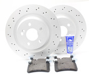 Mercedes Brake Kit - Zimmermann W21163AMGRBK1