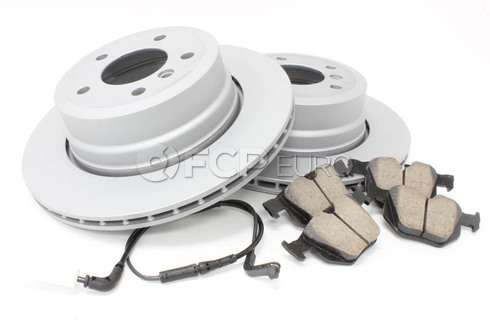 BMW Brake Kit Rear (E60) - Zimmermann/Akebono 34216864053KTR5