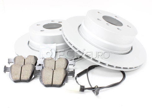 BMW Brake Kit Rear (E61) - Meyle/Akebono 34216864053KTR2