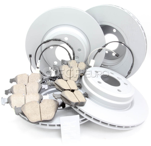 BMW Brake Kit - Zimmermann/Akebono 34216855004KTFR7
