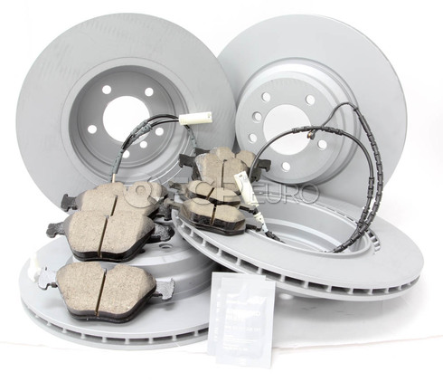 BMW Brake Kit Front and Rear (E90 E92) - Zimmermann/Akebono 34116855000KTFR12
