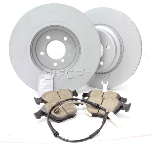 BMW Brake Kit Front (E90 E92 E93) - Zimmermann/Akebono 34116855000KTF6