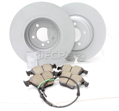 BMW Brake Kit Front (E90 E92 E93) - Zimmermann/Akebono 34116855000KTF3