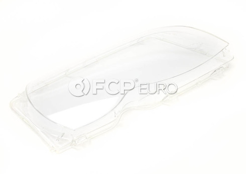 BMW Headlight Lens Right (E46) - Genuine BMW 63126924046
