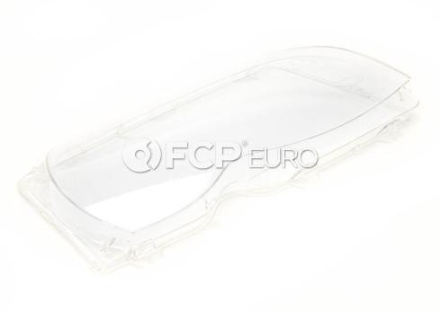 BMW Headlight Lens Right (E46) - Genuine BMW 63126924046