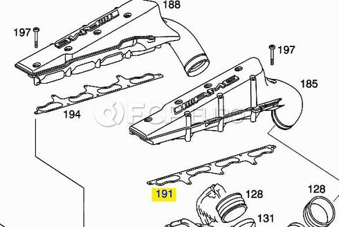 Mercedes Supercharger Gasket - Reinz 1130980180