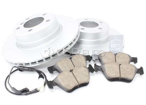BMW Brake Kit - Meyle/Akebono 34116764021KTF