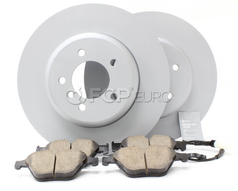 BMW Brake Kit - Zimmermann/Akebono 34116763824KTF2