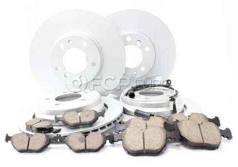 BMW Brake Kit Front and Rear (E39 540i) - Meyle/Akebono 34116757747KTFR5