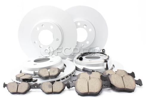 BMW Brake Kit - Meyle/Akebono 34116757747KTFR5