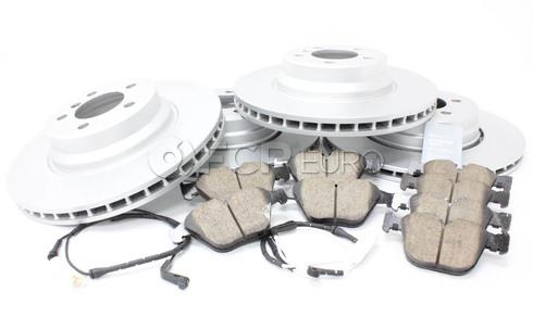 BMW Brake Kit - Meyle/Akebono 34116750267KTFR5