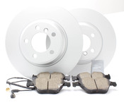 BMW Brake Kit - Meyle/Akebono 34116750267KTF2