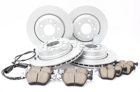 BMW Brake Kit - Meyle/Akebono 34113400151KTFR3