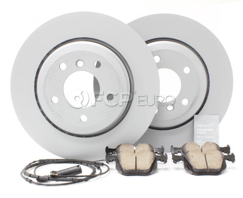 BMW Brake Kit Rear (E46 330i 330ci 330xi) - Zimmermann/Akebono 330BKREAR2
