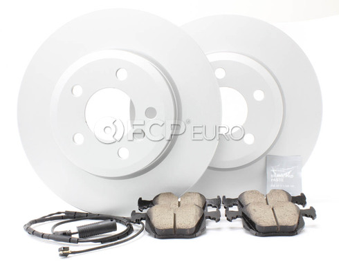 BMW Brake Kit Rear (E46 330i 330ci 330xi) - Meyle/Akebono 330BKREAR1