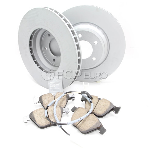 BMW Brake Kit Front (E90 E92) - Zimmermann/Akebono 34116855000KTF9