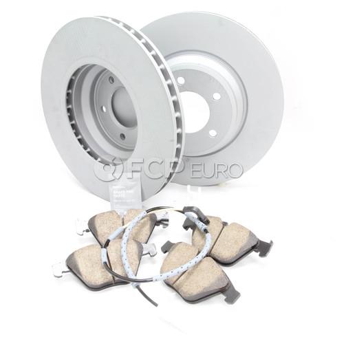 BMW Brake Kit - Zimmermann/Akebono 34116855000KTF10