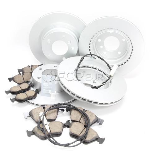 BMW Brake Kit - Meyle/Akebono 34116854998KTFR1
