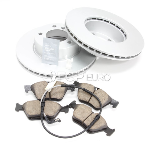 BMW Brake Kit - Meyle/Akebono 34116854998KTF5