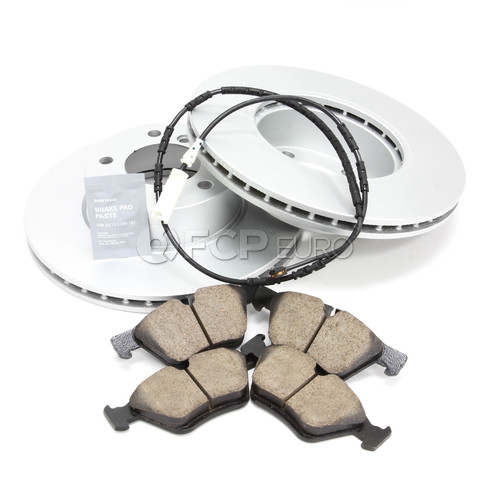 BMW Brake Kit - Meyle/Akebono 34116854998KTF3