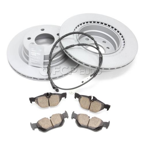 BMW Brake Kit Rear (E90 E92) - Zimmermann/Akebono 34216855007KT2