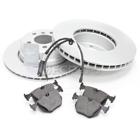 BMW Brake Kit - Meyle/Textar 34216756849KT2