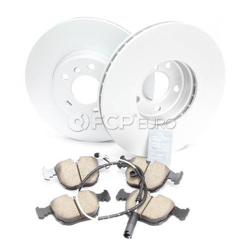 BMW Brake Kit Front (E53) - Meyle/Akebono 34116794304KT2